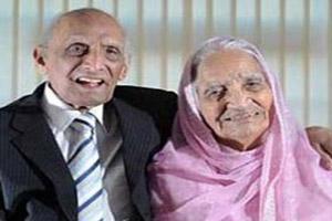 مراسم تولد پیرترین زوج خوشبخت جهان