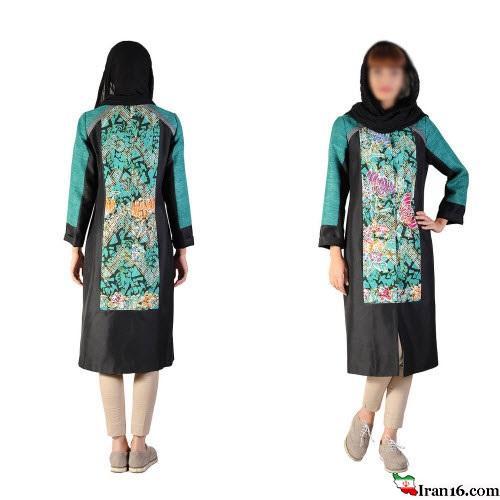 جدیدترین مدل مانتو مجلسی ۱۳۹۴ از برند ایرانی زریر Zarir