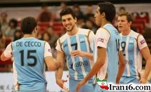ماجرای روسری پوشیدن بازیکنان والیبال مرد آرژانتین در ایران! + عکس