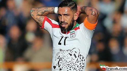 اشکان دژاگه، جذاب ترین بازیکن تیم ملی ایران