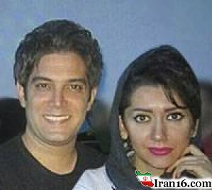عکس امیرعلی نبویان و همسرش در کنسرت حجت اشرف زاده