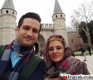 عکس های بازیگران ایرانی در کنار همسرانشان + سری 95