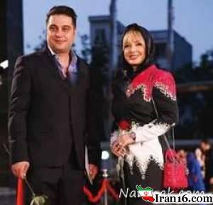 بازیگران مشهور ایرانی و همسرانشان در جشن حافظ 95 + تصاویر