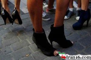 تازه ترین مد بنگاههای مد و فشن؛ کفش پاشنه بلند مردانه!