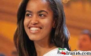 واکنش دختر اوباما به کامنت پسر ایرانی + عکس