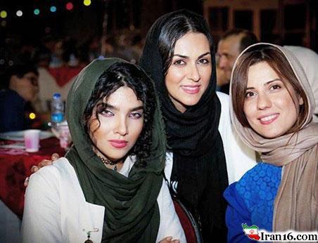 عکسهای بدحجاب و بدون حجاب بازیگران زن ایرانی