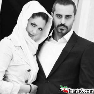 "عکس جدید ""علیرام نورایی و همسرش"""