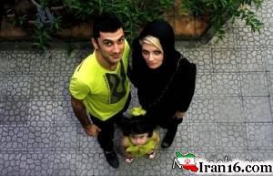 علت جدایی فرهاد ظریف از همسرش