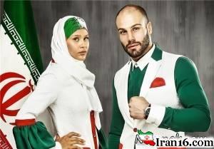 "طرح جدید ""لباس کاروان المپیک"" همچنان مورد انتقاد + تصاویر"
