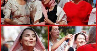 لیلا حاتمی ,حجاب لیلا حاتمی, اینستاگرام لیلا حاتمی, بی حجابی, بدحجابی ,سیمین دانشور ,حجاب, سیمین دانشور