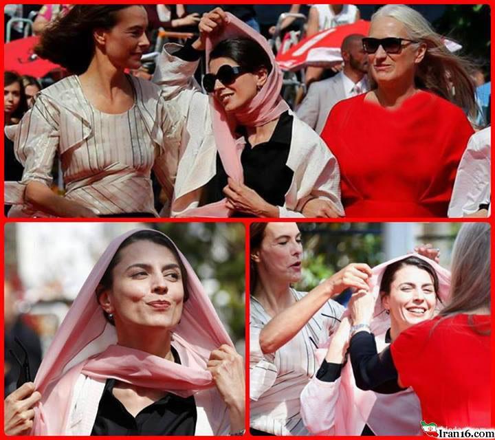 اظهار نظر عجیب خانم بازیگر درخصوص حجاب+عکس