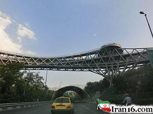 خودکشی جوان 25 ساله از روی پل طبیعت تهران