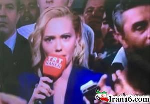 مجری اعلام کننده کودتای ترکیه + تصاویر