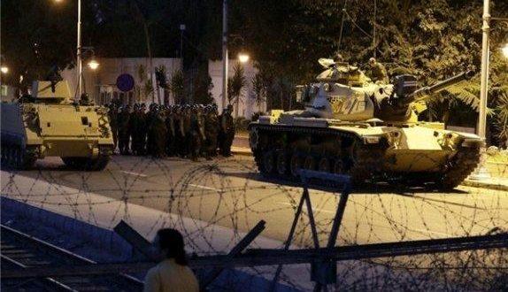 کودتا در ترکیه