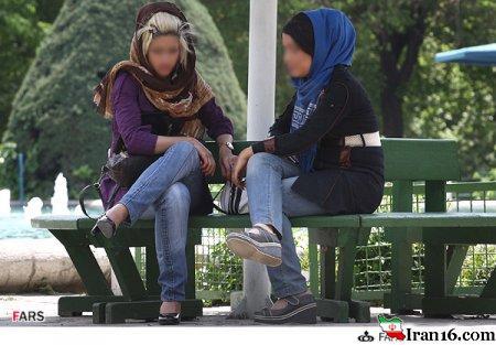 عکس های دیدنی از بد حجابی زنان و دختران تهران