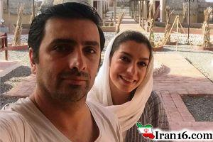 عکس تبلیغاتی الیکا عبدالرزاقی و همسرش !