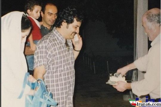 عقد مهراب قاسم خانی و شقایق دهقان + عکس
