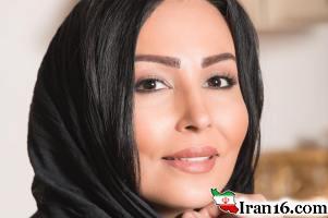 پرستو صالحی مدل تبلیغاتی یک برند شال و روسری شد!! عکس