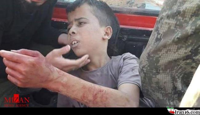 تکفیریها یک کودک را در حلب سر بریدند +عکس(+16)