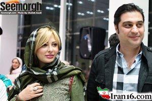 نیوشا ضیغمی و همسرش در یک مراسم خیریه + عکس