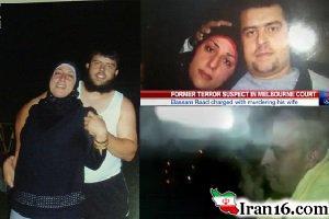 شوهر داعشی سر زن خودش را برید +عکس