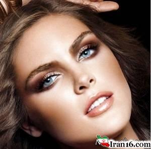 آرایش عالی برای پوست های تیره و سبزه