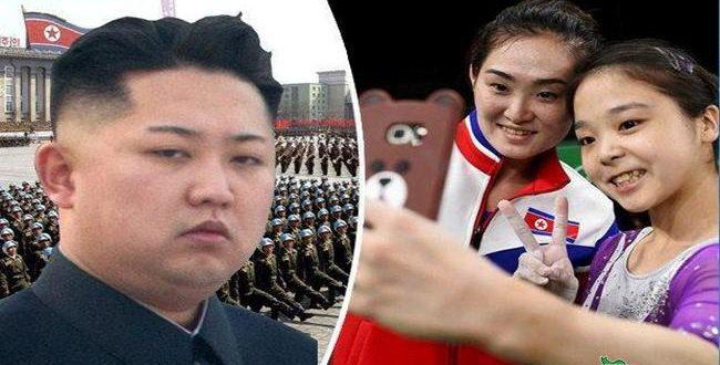 سلفی ورزشکاران کره شمالی وجنوبی در ریودوژانیرو