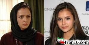 شباهت بازیگران ایرانی با چهره های سرشناس خارجی + تصاویر