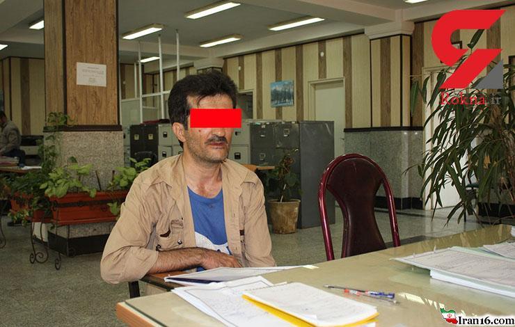 اعتراف سرد قاتل برادر پس از 12 ساعت فرار+عکس