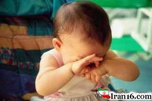 """""""تنبیه وحشتناک"""" نوزاد 3 ماهه توسط مادر معتادش + عکس"""