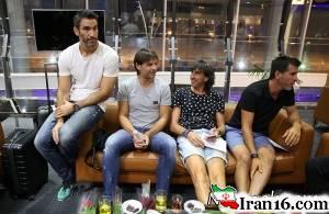 تصاویر ورود بازیکنان تیم ستارگان لالیگا به تهران