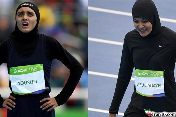 عکس/ دختر 22 ساله عربستانی در المپیک تاریخ ساز شد