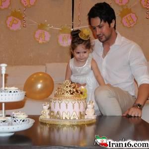 تصاویر جشن تولد پناه دختر شاهرخ استخری
