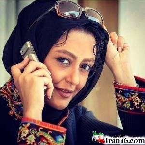 شقایق فراهانی با گریم گلشیفته! + عکس