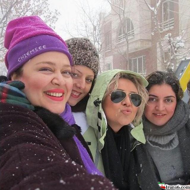 عکسهای دیده نشده جدید بازیگران ایرانی بی حجاب