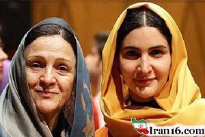 عکس های جالب از مادر و دخترهای سینمای ایران
