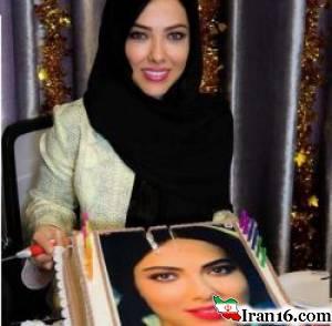 جشن تولد لیلا اوتادی در 33 سالگی + تصاویر