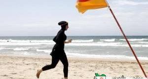 مایو شنای اسلامی , شنا , زن مسلمان , پلیس , فرانسه , شنا در فرانسه