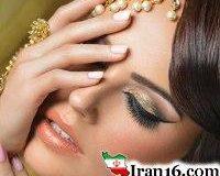 مدل آرایش صورت, مدل آرایش, مدل آرایش صورت عروس, جدیدترین مدل آرایش صورت, انواع مدل آرایش, مدل آرایش چهره, آرایش هندی, مدل آرایش هندی, آموزش آرایش هندی
