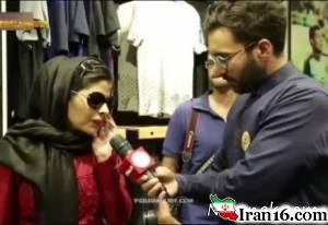 اعتراض تند مریم حیدرزاده به مهران مدیری + فیلم