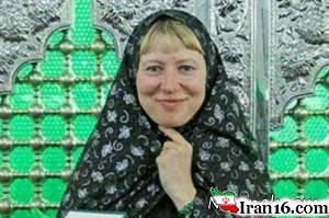 مسلمان شدن زن اوکراینی در امام زاده صالح + عکس
