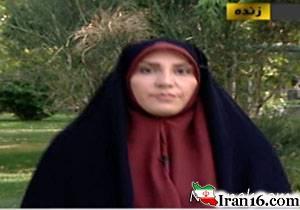 غش کردن معصومه احمدی مجری هواشناسی در برنامه زنده + فیلم