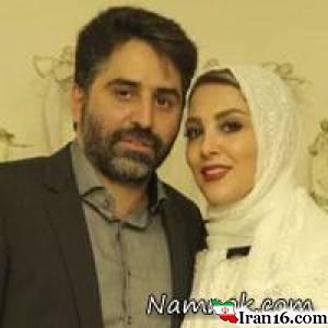 مراسم ازدواج ژیلا صادقی و همسرش محسن رجبی + تصاویر