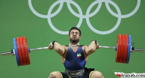 اولین مدال ایران در المپیک ریو/ طلای ورزنه برداری کیانوش رستمی (+عکس)
