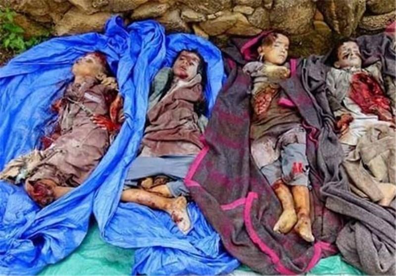جنایات فجیع امروز عربستان در یمن+عکس