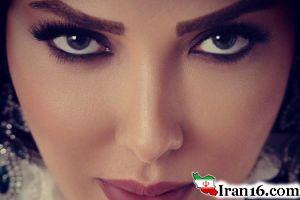 سورپرایز لیلا اوتادی با طرحی که از چهره اش کشیده شد! عکس