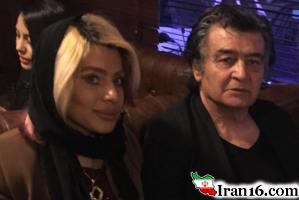 عکس جدید رضا رویگری 70 ساله در کنار همسرش