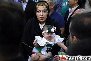 بهداد سلیمی در کنار همسر و دخترش پس از شرکت در المپیک 2016 + عکس