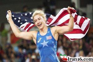 مدال طلای هلن مارینوس در کشتی زنان المپیک 2016