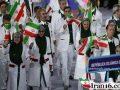 رژه کاروان ایران در افتتاحیه المپیک 2016, رژه ایران در افتتاحیه المپیک 2016, افتتاحیه المپیک 2016, المپیک 2016